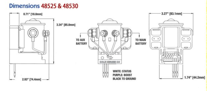cole hersee battery isolator wiring diagram wiring diagram coach battery isolator wiring diagram automotive