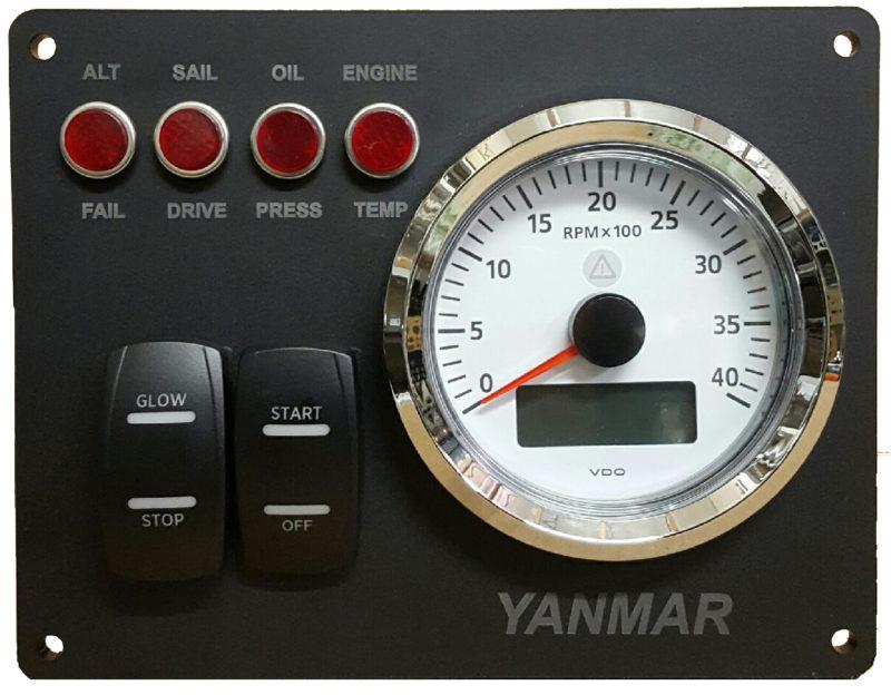 Replacement B Yanmar Instrument Panel Type