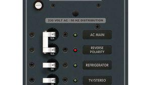 Boat DC Branch Circuit Breaker instrument Panels