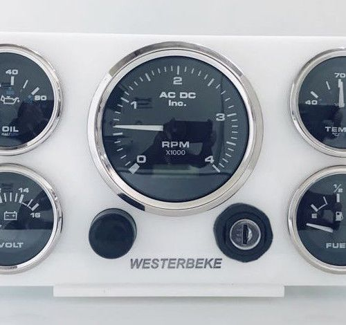 Westerbeke Marine Diesel engine Instrument panel