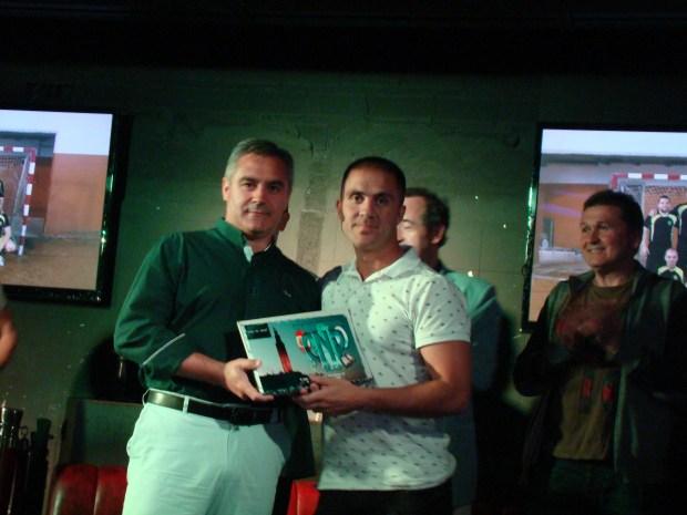 trofeo 4º clasificado csif coruña