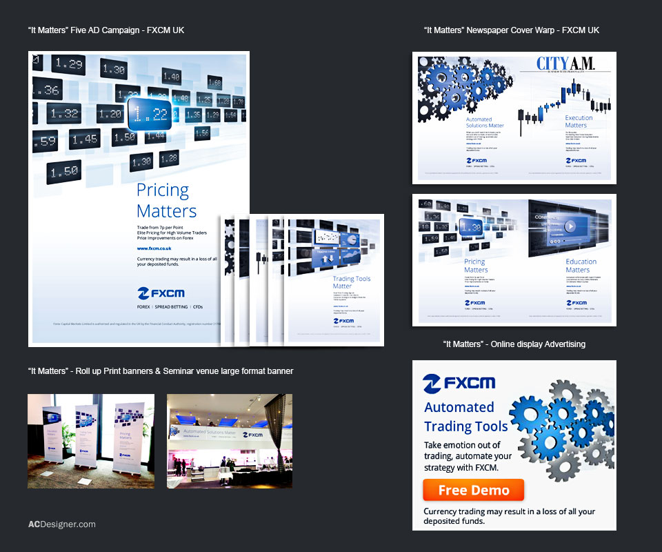 fxcm advertising campaign