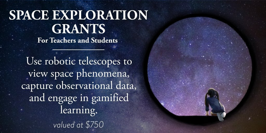 Slooh Launches Grant to Help One Million Students Explore Space Using Its Robotic Telescopes