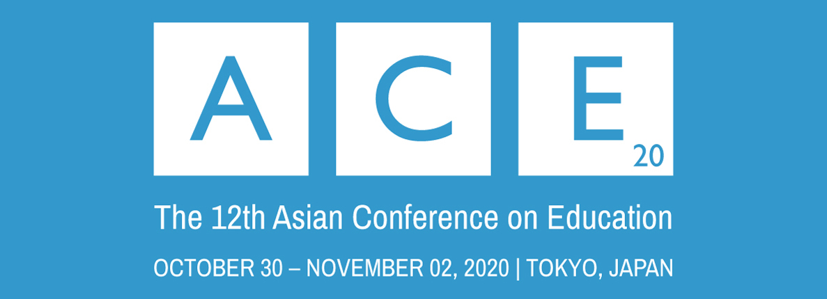 The Asian Conference on Education ACE2020 Logo