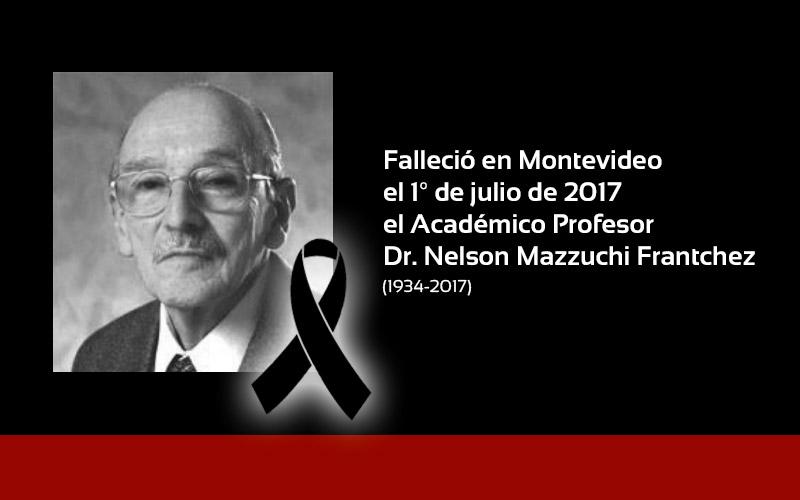 Nelson Mazzuchi Frantchez