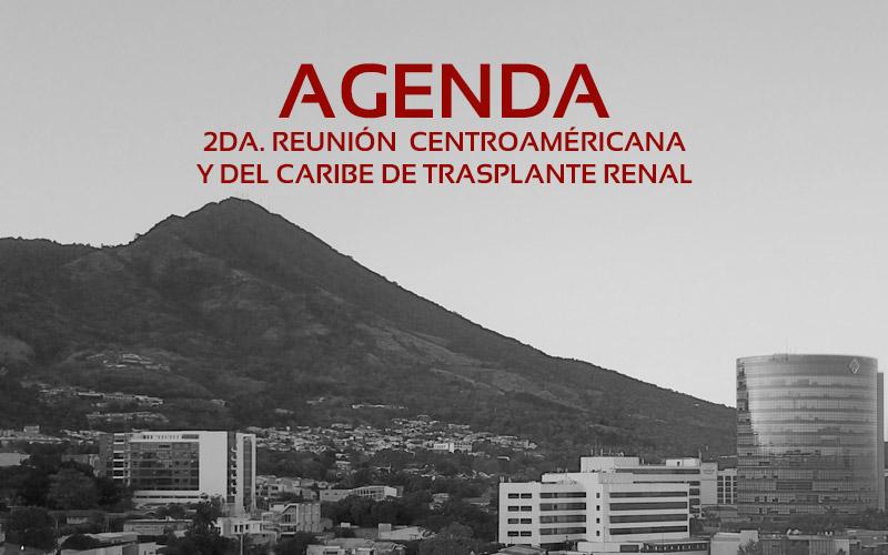 Agenda Reunión Trasplante Renal El Salvador