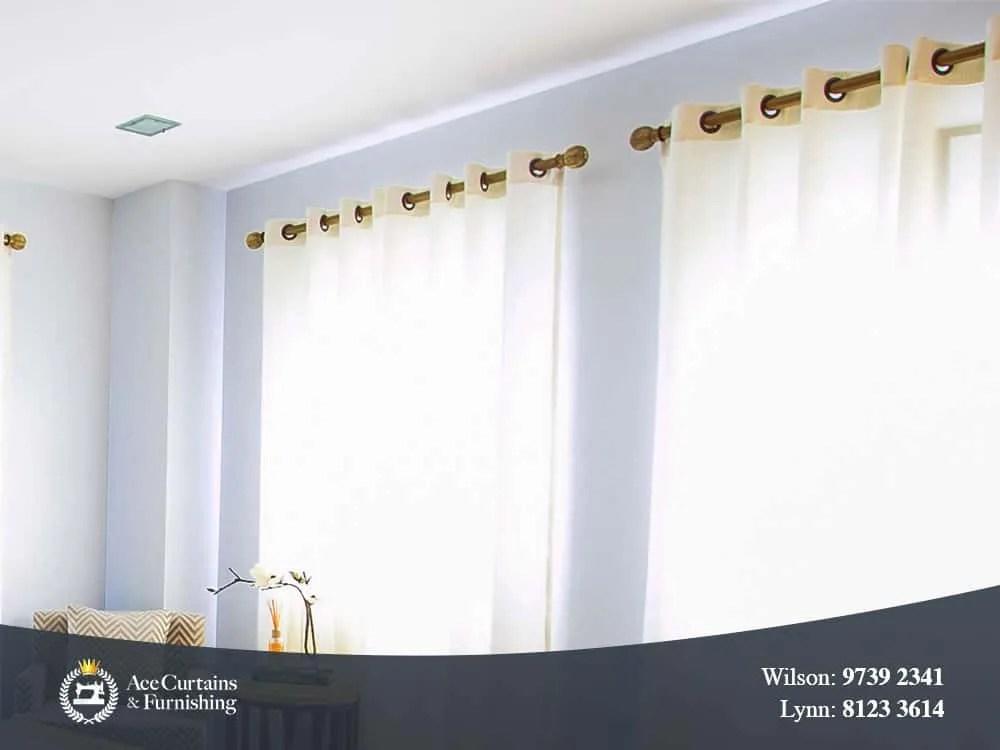 curtain rod ace curtains furnishing