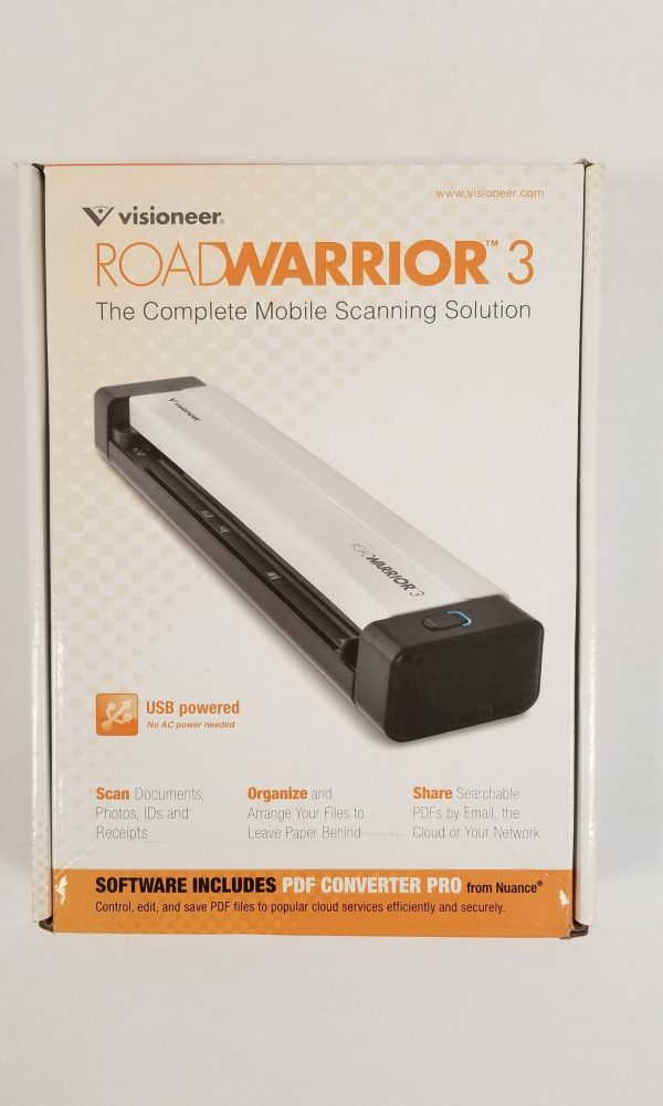 Visioneer RoadWarrior 3 Mobile Scanner