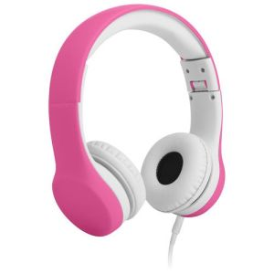 LilGadgets Over-Ear Headphones for Kids - Pink/White