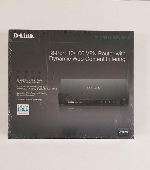 D-Link VPN Router DSR-150