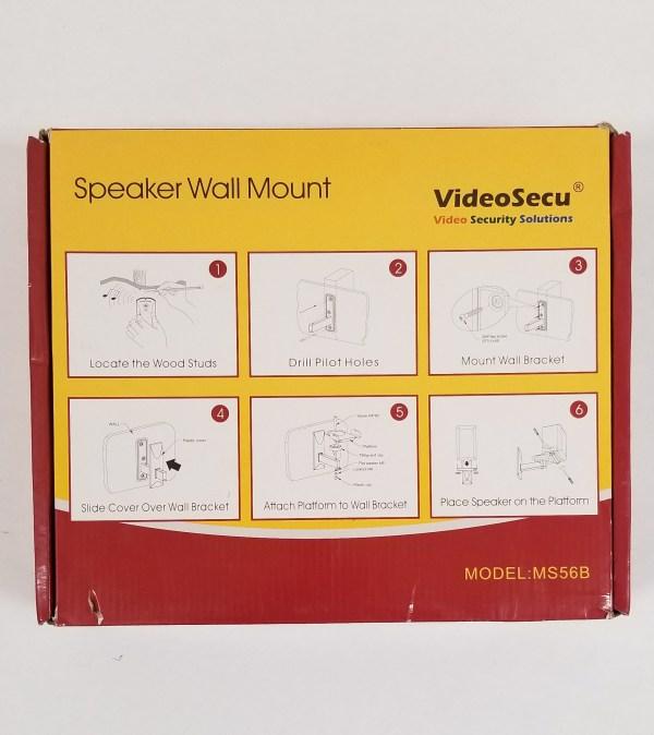 VideoSecu MS56B Speaker Wall Mounts