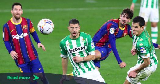 Real Betis 2-3 FC Barcelona: La Liga Player Ratings