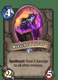 Wretched Tutor Warrior Scholomances Academy