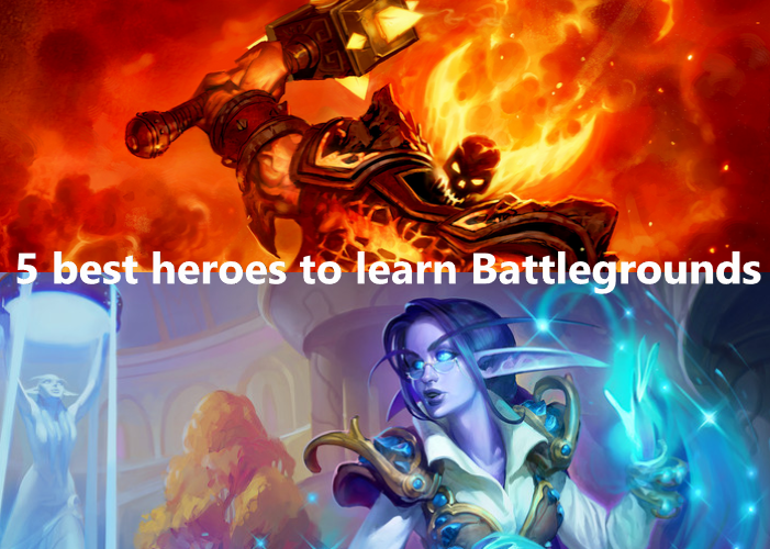 Hearthstone Battlegrounds Best heroes to learn the game