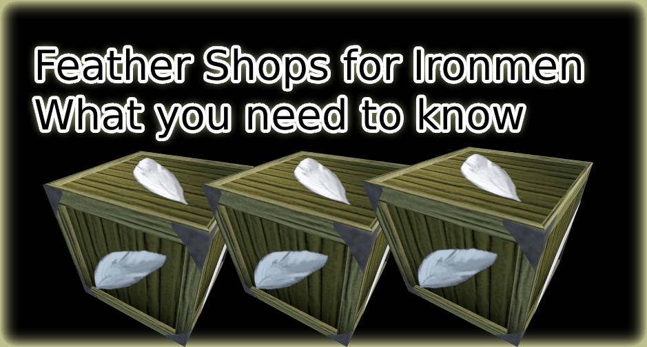 RS3 Feather Shops