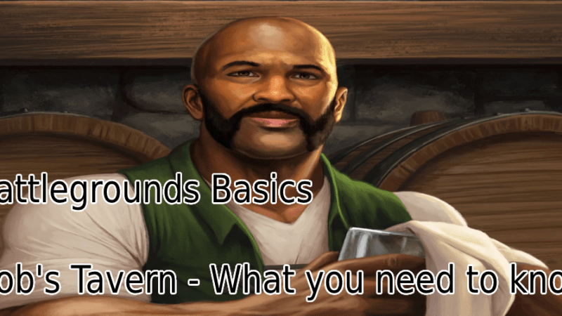 Battlegrounds Basics, Shopkeeper Bob's Tavern