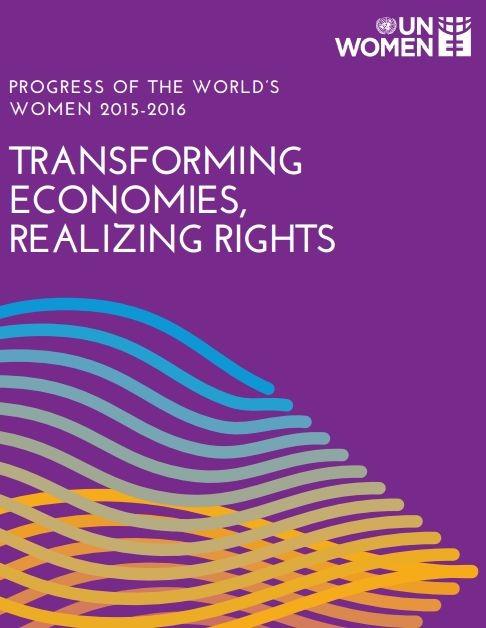 Relatório ONU MUlher  Progresso das Mulheres do Mundo 2015-2016 01aef678f5d34