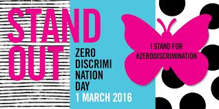 Zero Discrimation Day - 1 macrch
