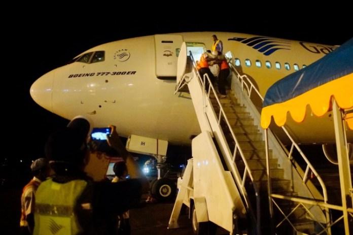 Sambut Jemaah Kloter 8, Kawanwil Kemenag Aceh Berpesan Peliharalah Kemabruran Haji