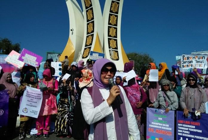 Aktivis Perempuan Aceh Dorong Pengesahan RUU Penghapusan Kekerasan Seksual