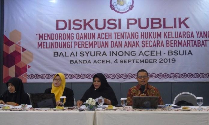 DPRA Diminta Tunda Pengesahan Qanun Hukum Keluarga di Aceh