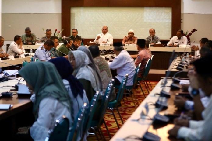 Sekda Aceh Perlu Kolaborasi Semua Pihak untuk Tanggulangi Virus Corona