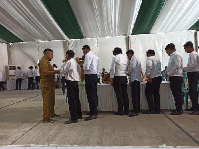 Pesan Kabag TU ke Peserta Tes SKD CPNS Kemenag Aceh: Jangan Percaya Calo