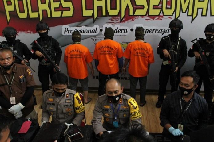 Tiga Pembobol ATM Bank BNI di Aceh Utara Dibekuk Polisi