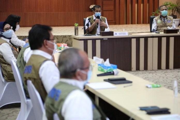Kunjungi Aceh, Doni Monardo Ingatkan Penularan COVID-19 Terjadi dari Orang Terdekat