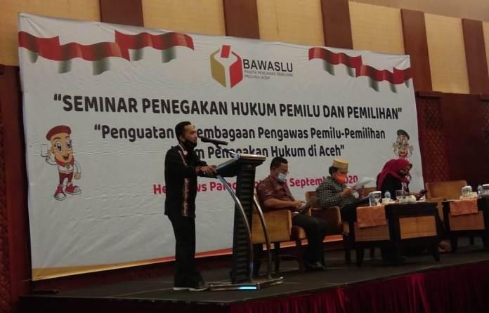 Panwaslih Aceh Bahas Penegakan Hukum Pemilu Bersama Para Pakar