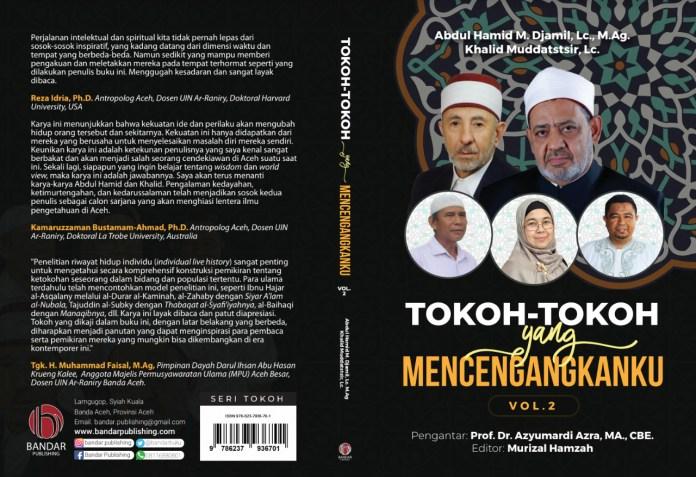 Santri Aceh Luncurkan Buku 'Tokoh-tokoh Yang Mencengangkanku' Volume Kedua