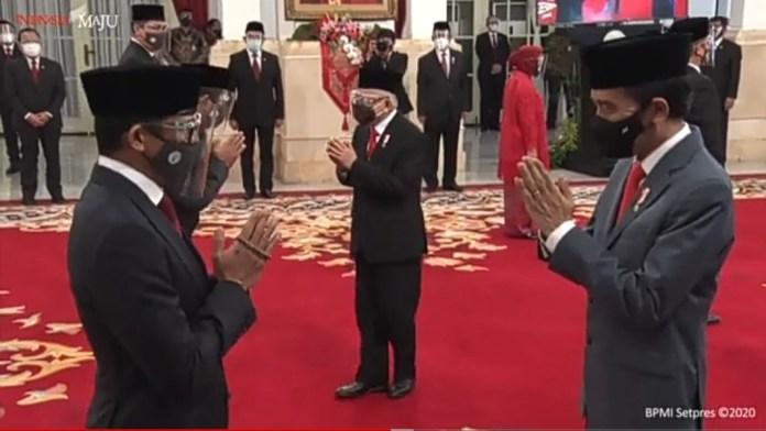 Sah, Presiden Jokowi Lantik 6 Menteri dan 5 Wamen Baru