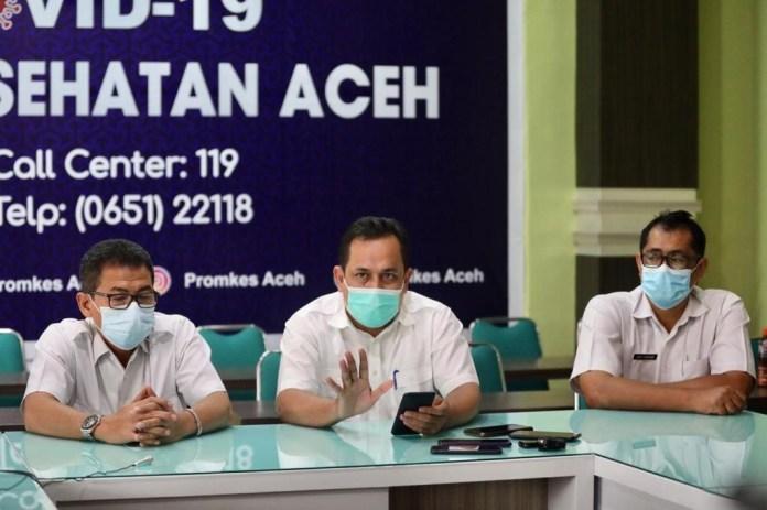 3,7 Juta Warga Jadi Target Vaksinasi Corona di Aceh, Penyuntikan Vaksin Dimulai Lusa