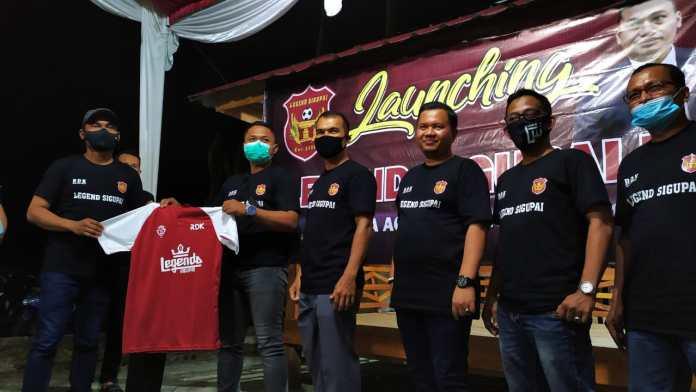 Klub Legend Sigupai FC Resmi Diluncurkan