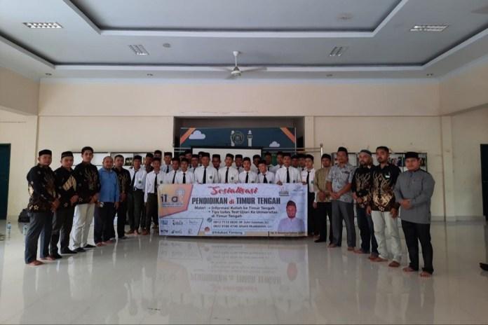 IKAT Sosialisasi Pendidikan Timur Tengah ke Kabupaten/Kota di Aceh