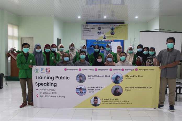 STIS Al-Aziziyah Sabang Gandeng GEN-A Latih Mahasiswa Kemampuan Public Speaking