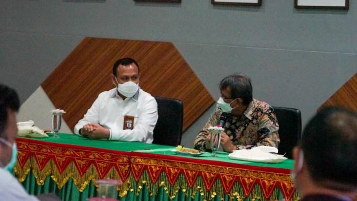 Silaturahmi ke USK, Ketua KPK Dorong Peran Kampus dalam Pembangunan Daerah