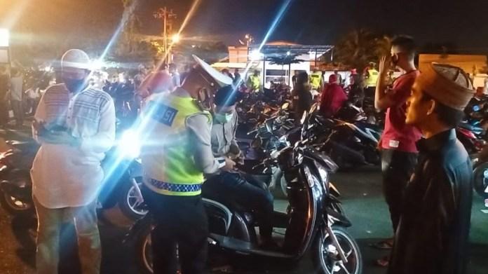 Buru Pengguna Knalpot Bising Selama Ramadhan, Polresta Banda Aceh Tingkatkan Razia