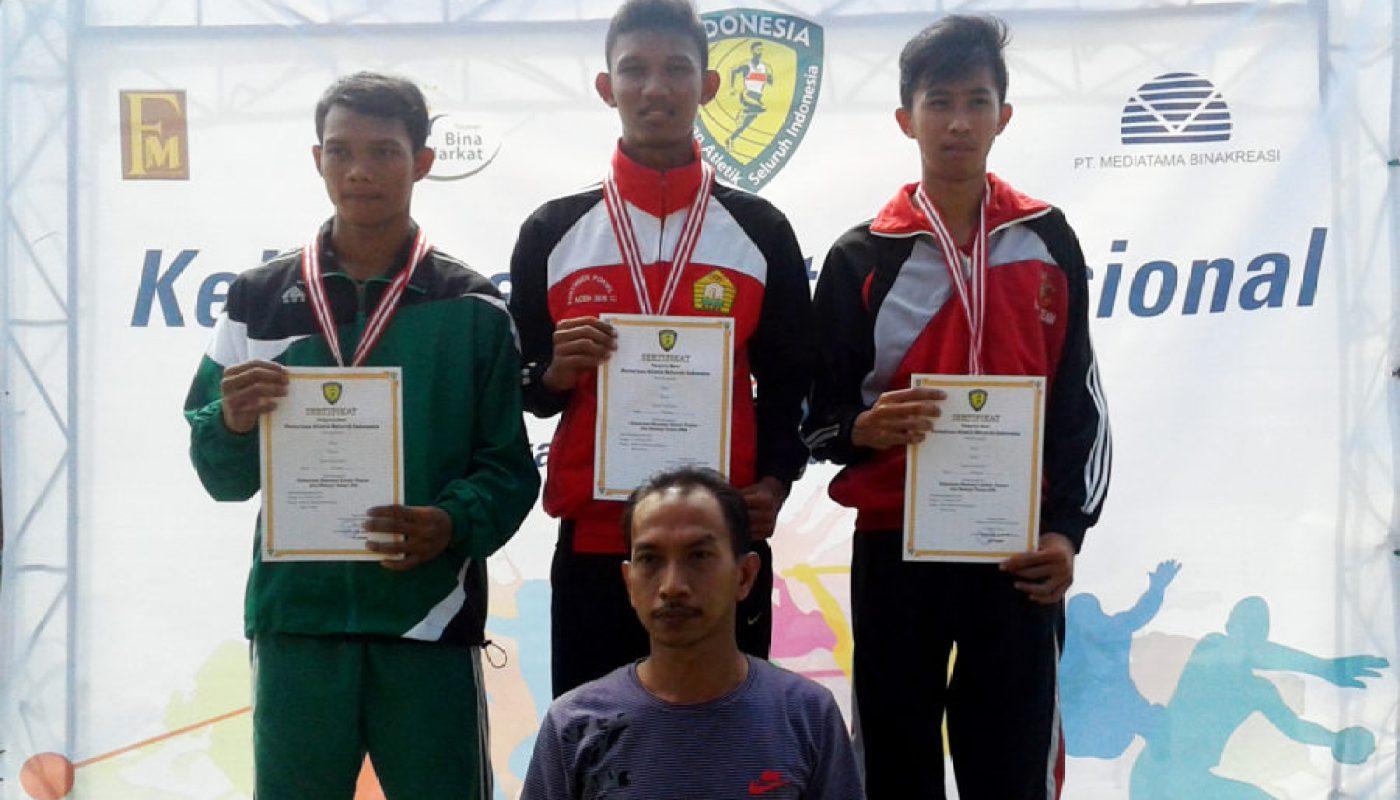Hari Kedua Pra-PON Remaja, Cabang Atletik Aceh Rebut Tiga Medali