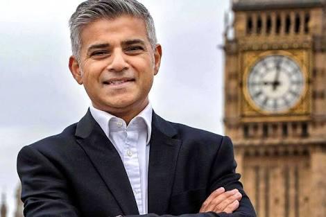 Sadiq Khan wali kota Muslim pertama London