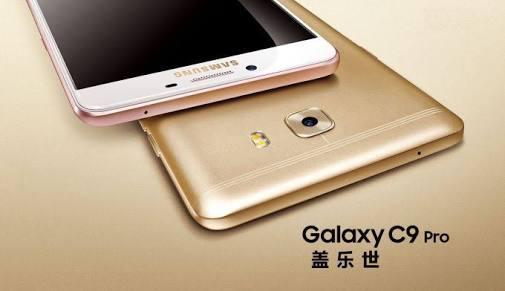 Produsen smartphones asal KoSamsung Galaxy C9 Pro RAM 6GB