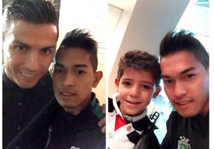 "Semusim Berlatih di Sporting Lisbon, ""Anak"" Ronaldo Bela PS TNI"