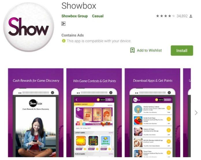 aplikasi showbox