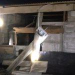 Rumah janda dirusak