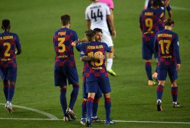 Barcelona akan bertemu Bayern Munchen di babak delapan besar