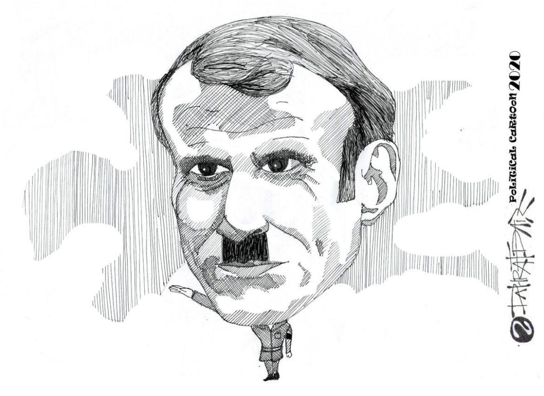 Macron dan Hitler