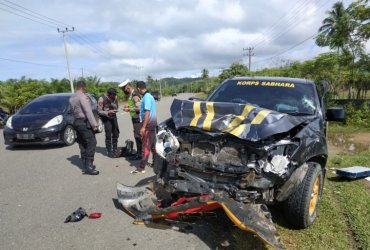 Mobil Patroli Polres Aceh Jaya