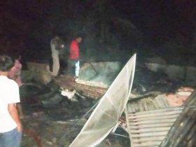 Satu Unit Rumah di Aceh Timur Ludes Terbakar