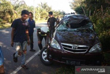 Kecelakaan Tunggal di Aceh Jaya