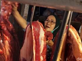 Pedagang Daging Meugang